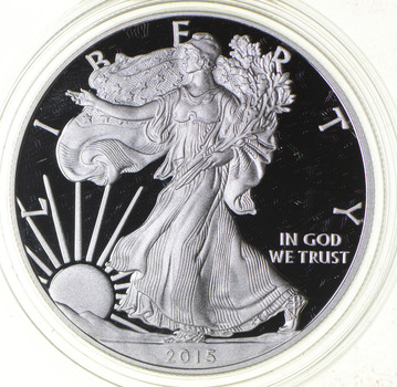 PROOF - NICE - 2015-W American Silver Eagle - DEEP CAMEO Proof - Rare