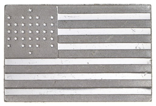 RARE 15th U.S. Flag .925 Sterling Silver - Bar Limited Edition Series