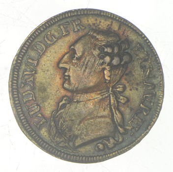 Rare - 1776 France Louis XVI Token - Historic!