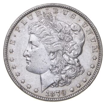 RARE - 1879 Morgan Silver Dollar - Very TOUGH - High Redbook