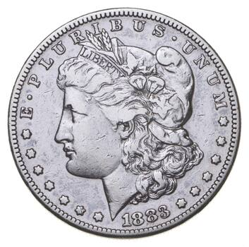 RARE - 1883-S Morgan Silver Dollar - Very TOUGH - High Redbook
