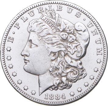 RARE - 1884-S Morgan Silver Dollar - Very TOUGH - High Redbook