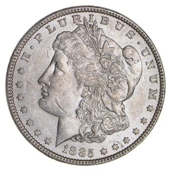 RARE - 1885 Morgan Silver Dollar - Very TOUGH - High Redbook
