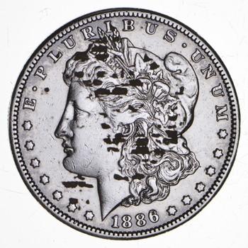 RARE - 1886-S Morgan Silver Dollar - Very TOUGH - High Redbook