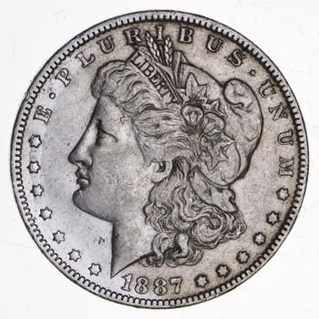 RARE - 1887-O Morgan Silver Dollar - Very TOUGH - High Redbook