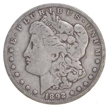 RARE - 1892-O Morgan Silver Dollar - Very TOUGH - High Redbook