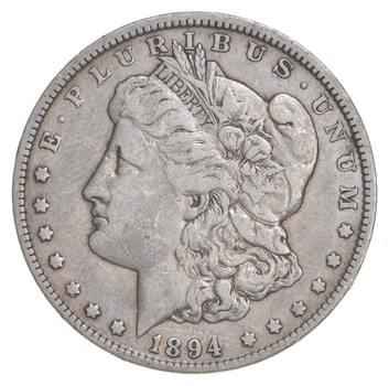 RARE - 1894-O Morgan Silver Dollar - Very TOUGH - High Redbook