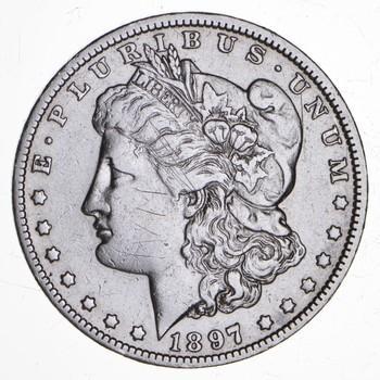 RARE - 1897-O Morgan Silver Dollar - Very TOUGH - High Redbook
