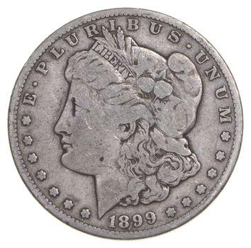 RARE - 1899-S Morgan Silver Dollar - Very TOUGH - High Redbook