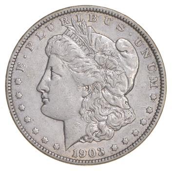 RARE - 1903 Morgan Silver Dollar - Very TOUGH - High Redbook