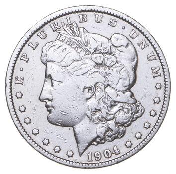 RARE - 1904 Morgan Silver Dollar - Very TOUGH - High Redbook