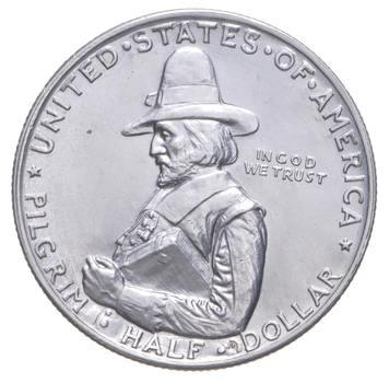 Rare - 1920 Pilgrim Tercentenary US Early Commemorative Half Dollar