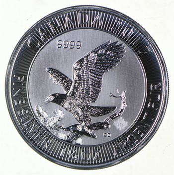 Rare $8.00 2017 Royal Canadian Mint 1.25oz Silver Eagle .999 Low Mintage