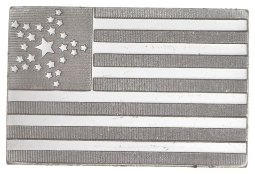 RARE 8th U.S. Flag .925 Sterling Silver - Bar Limited Edition Series