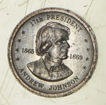 RARE Andrew Johnson .925 Sterling Silver - Round Limited Edition Series