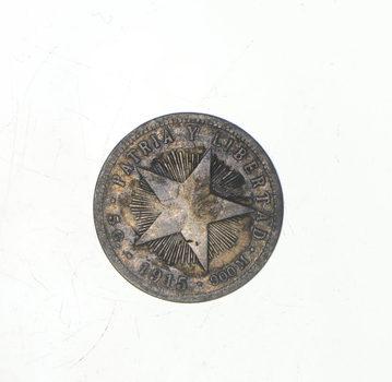 RARE - AUTHENTIC - Silver CUBAN Coin - Historic Coin!