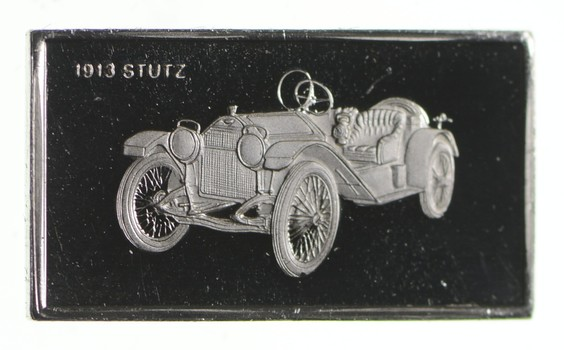 RARE Classic Car Series .925 Sterling Silver - Bar- Limited Edition Series