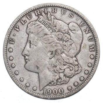 RARE Error O/CC - 1900-O/CC Morgan Silver DOllar - Tough Error