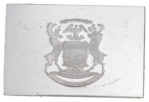 RARE Michigan Flag .925 Sterling Silver - Bar Limited Edition Series