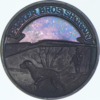 Rare Silver 20.5 Grams Parker Bros. Shotgun Round .999 Fine Silver