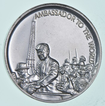 Rare Silver - 30.3 Grams - The Legacy Of John F. Kennedy - Round .999 Fine Silver