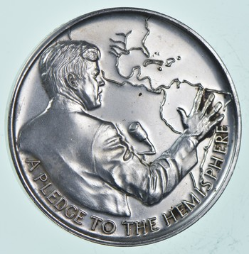 Rare Silver - 30.8 Grams - The Legacy Of John F. Kennedy - Round .999 Fine Silver