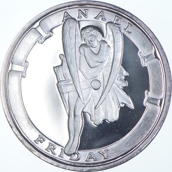 Rare Silver 31.2 Grams Anael Friday Round .999 Fine Silver