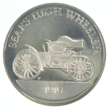 Rare Sterling Silver - Classic Car Museum Silver Miniature Collection - Awesome Silver Ingot!