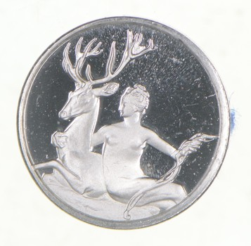 RARE Treasures Of The Louvre .925 Sterling Silver - Round Limited Edition Series