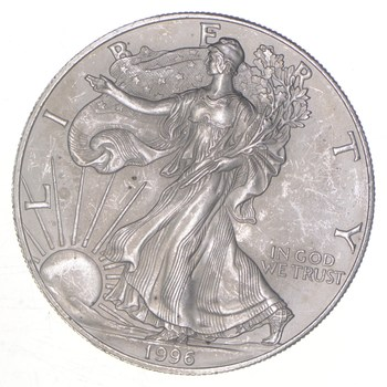 Rarest 1996 American Silver Eagle - Key Date - Rare LOW MINTAGE