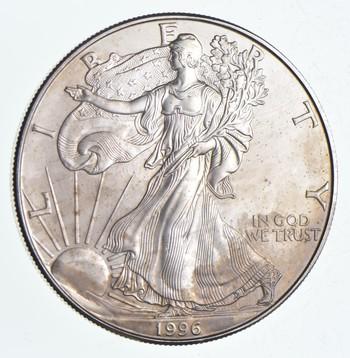 Rarest 1996 American Silver Eagle - Key Date - Rare LOW MINTAGE