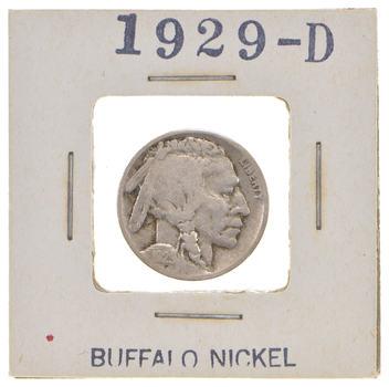Roaring 20's - Early 1929-D Buffalo Nickel - Look it up!