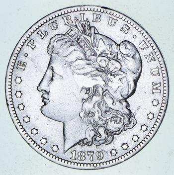 ***s$1 - RARE Date - 1879-O Morgan Silver Dollar - Tough to find
