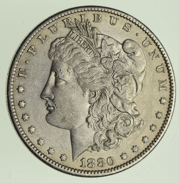 ***s$1 - RARE Date - 1880-O Morgan Silver Dollar - Tough to find