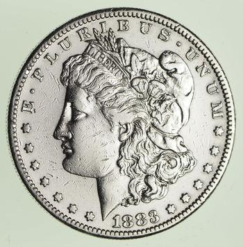 ***s$1 - RARE Date - 1883-S Morgan Silver Dollar - Tough to find