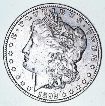 ***s$1 - RARE Date - 1892-O Morgan Silver Dollar - Tough to find