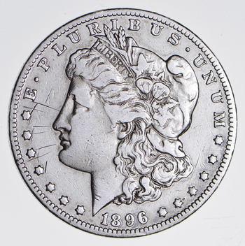 ***s$1 - RARE Date - 1896-O Morgan Silver Dollar - Tough to find
