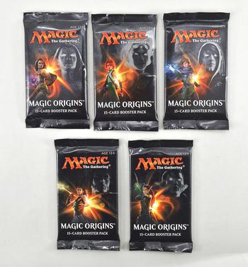 SEALED Magic The Gathering -Magic Origins Booster Pack - 15 Cards Per Pack!