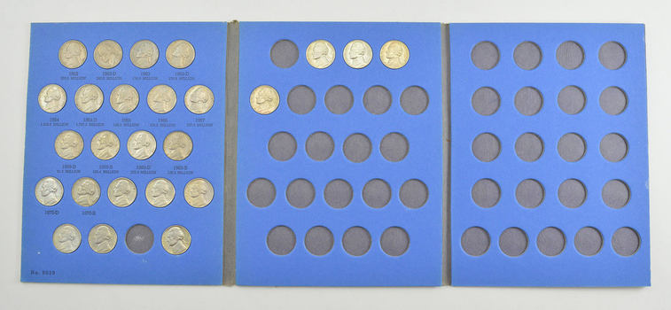 Set of Jefferson Nickels - US Coin Collection