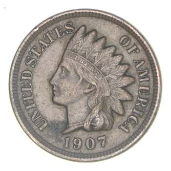 SHARP - 1907 - Indian Head Cent - Great Detail in Liberty - Tough Grade