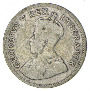 SILVER - 1929 South Africa 1 Shilling - World Silver Coin 5.5 Grams