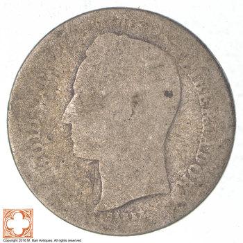 SILVER - 1935 Venezuela 50 Centimos - World Silver Coin
