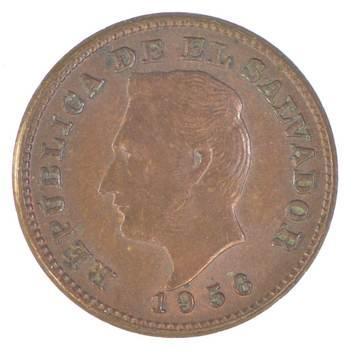 SILVER - 1952 Honduras 20 Centavos - World Silver Coin