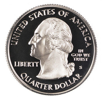 SILVER 2009-S Puerto Rico Washington US Territories Quarter - Silver Proof