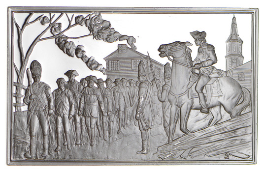 SILVER - American Revolution - 57.6 Grams of .925 Bullion Sterling Bar