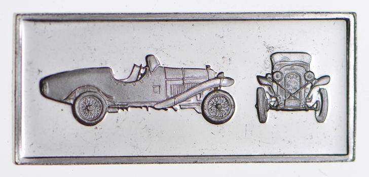 SILVER - Car Series - 1925 Amilcar Roadster - 2.9 Grams of .925 Fine Silver Bar