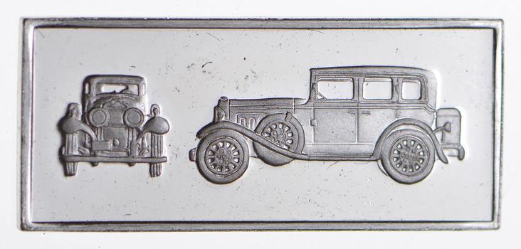 SILVER - Car Series - 1931 Peerless Sedan - 3 Grams of .925 Fine Silver Bar