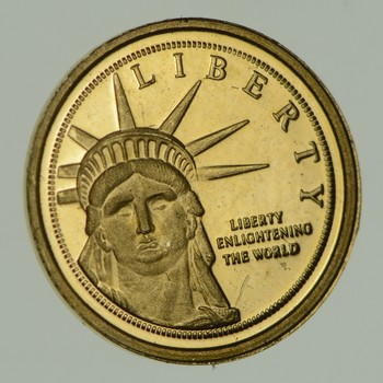Statue Of Liberty 0.6 Grams GOLD!