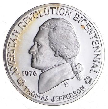 Sterling Silver - American Revolution Bicentennial - - 0.925 Silver - 30.9 Grams Round