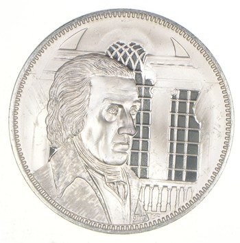 Sterling Silver - Robert Paine - - 0.925 Silver - 32.2 Grams Round